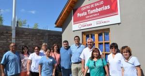 La Posta Tamberías fue refaccionada a nuevo y ya la pueden utilizar los vecinos de Jáchal. Fotos: Facundo Quiroga