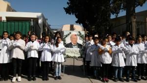 A través de la lengua de señas rindieron homenaje a Sarmiento