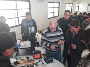 Estudiantes secundarios culminaron sus prácticas profesionalizantes en fibra óptica