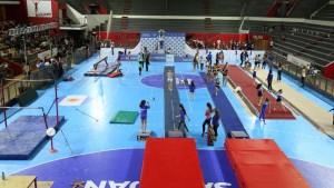 En la tarde del martes será el acto de apertura del Torneo Nacional de Gimnasia Artística