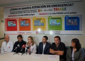 Mejorarán la atención en Urgencias del hospital Rawson con un nuevo sistema