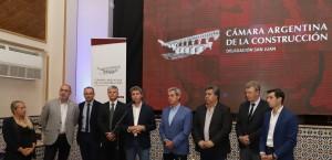 Sergio Uñac y la Cámara Argentina de la Construcción despidieron el 2019