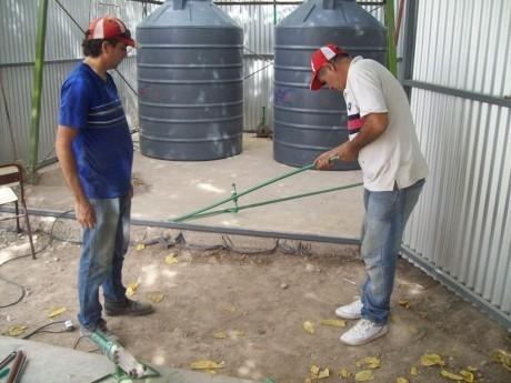 Refacción y mantenimiento de edificios escolares