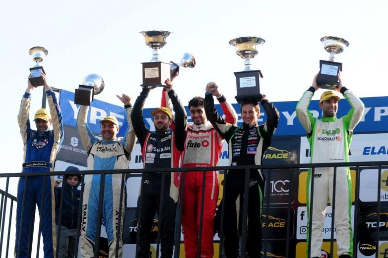 Fin de semana positivo para los pilotos sanjuaninos, con podios incluidos