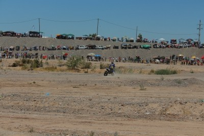 Albardón vive el Rally Dakar 2016