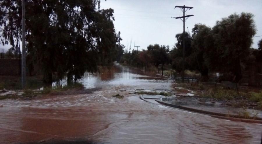 Informe de situación tras las lluvias en el noreste de la provincia y vientos en el Gran San Juan
