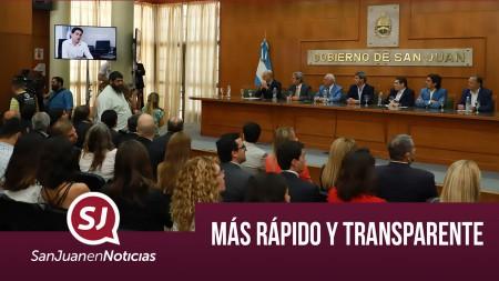 Más rápido y transparente | #SanJuanEnNoticias