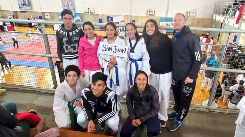 En taekwondo, San Juan llega con esperanzas de seguir creciendo