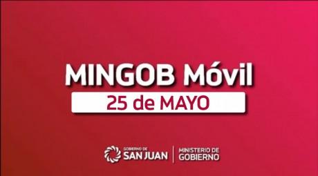 Con todos sus servicios, MinGob Móvil arribará el jueves a 25 de Mayo