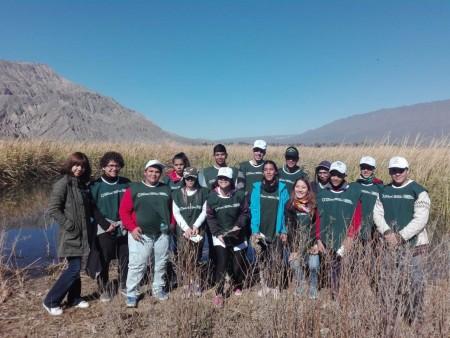 Los chicos de la Escuela Pestalozzi, maravillados con la biodiversidad del Parque Sarmiento