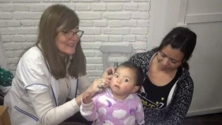 Programa de Hipoacusia: dos niños de Sarmiento y Pocito recibieron audífonos