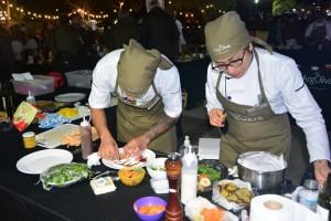Cientos de sanjuaninos disfrutaron del cierre de la fiesta del olivo