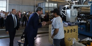 La empresa de tuberías Krah abrió sus puertas en San Juan generando nuevos puestos de trabajo