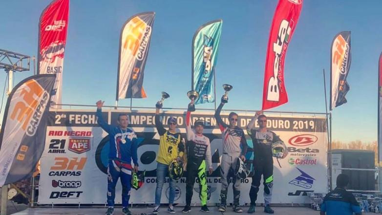 Destacada actuación de pilotos sanjuaninos en el Argentino de Enduro