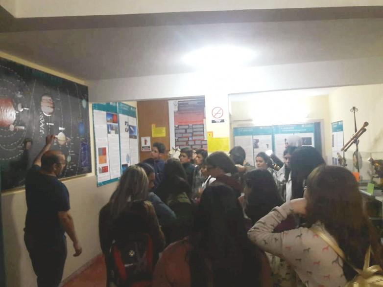 Alumnos secundarios visitaron el observatorio Félix Aguilar