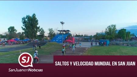Saltos y velocidad mundial en San Juan | #SanJuanEnNoticias