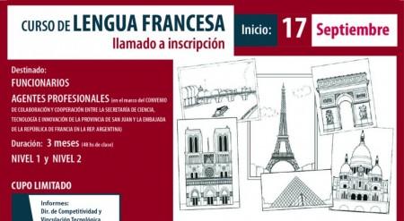 Se encuentra abierta la inscripción para un curso de lengua francesa