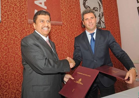Firma de acuerdo con Fondo Kuwaití para la construcción del Acueducto