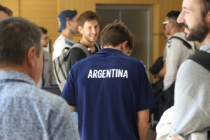 Comenzaron a llegar los equipos para el Cuatro Naciones de Handball