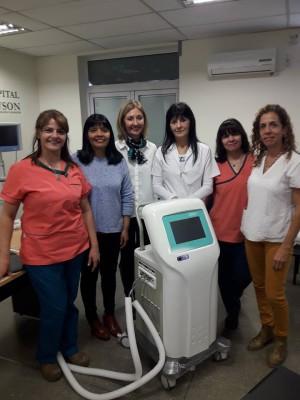 El Hospital Rawson y un nuevo equipamiento fundamental para salvar bebés