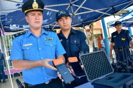 MinGob presentó nuevo equipamiento de la fuerza policial