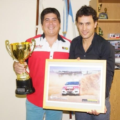Gabriel Abarca visitó la Secretaría de Deportes