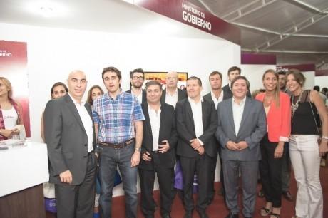 Funcionarios nacionales visitaron San Juan para coordinar la próxima reunión del CIF