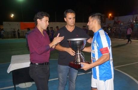 Jorge Chica presente en la final del futsal