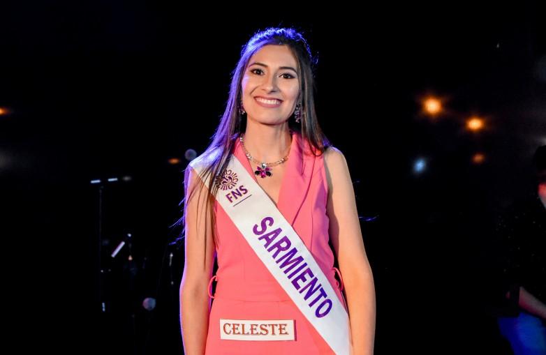 Celeste Sánchez se consagró embajadora de Sarmiento