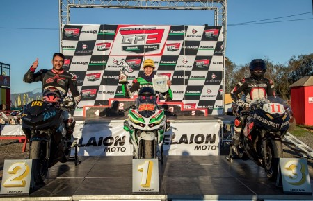 Tres victorias y dos podios, el saldo para los sanjuaninos en el deporte motor