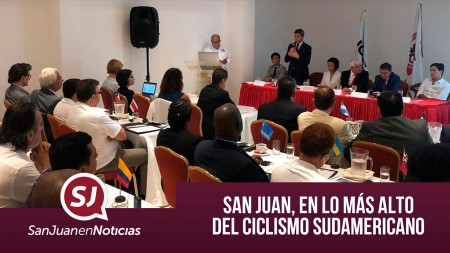 San Juan, en lo más alto del ciclismo sudamericano   #SanJuanEnNoticias