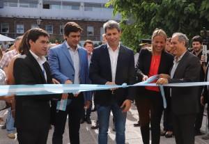 Uñac inauguró el nuevo edificio de Registro Civil de la 4º zona