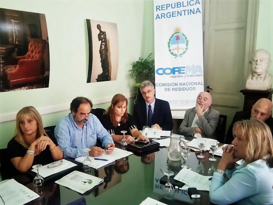 Se realizó la primera reunión anual de la Comisión de Residuos del COFEMA