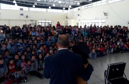 """El programa """"Con el fuego no se juega"""" llegó a más 8 mil alumnos de toda la provincia"""