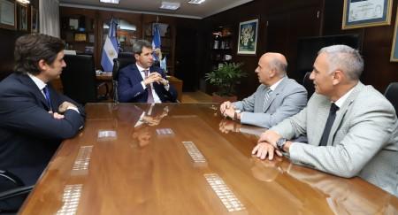 Uñac recibió a las nuevas autoridades del Foro de Abogados