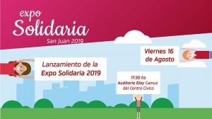 Este viernes presentarán la Expo Solidaria 2019