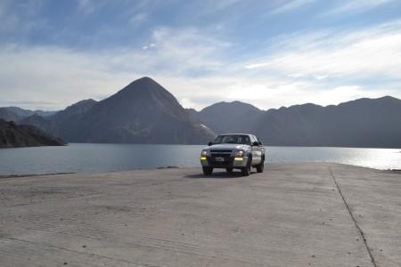 El dique Punta Negra se encuentra vedado para la pesca