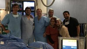 Se realizó el primer cierre percutáneo en el Hospital Rawson