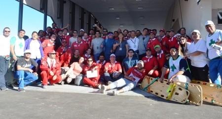 Misión cumplida para los equipos de salud en el Superbike