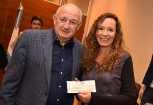 Baistrocchi dialogó con ganadores de Expo Solidaria 2018