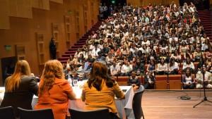 Autoridades y publico presente en las Jornadas Taller de salud Mental