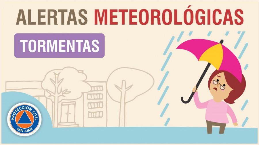 Alerta Meteorológica N° 24 - Probabilidad de tormentas