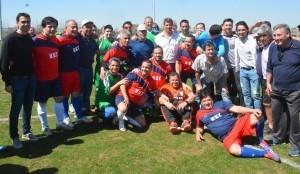 Encuentro futbolístico Regional entre Sanjuaninos y Chilenos