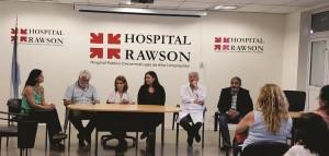 Asumió la nueva gerente técnica del Hospital Rawson