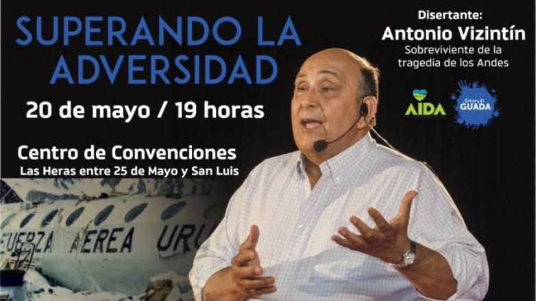 Uno de los sobrevivientes de la tragedia de los Andes brindará una charla motivacional