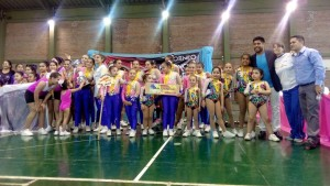 Finalizó el Campeonato Provincial de Aeróbica Deportiva