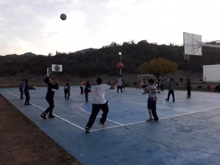 La Escuela de Iniciación Deportiva de Valle Fértil vivió dos jornadas a puro básquet