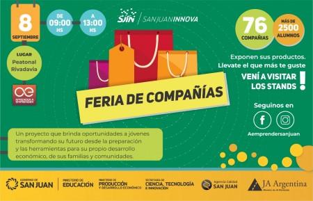 """La SECITI invita a la """"Feria de Compañías"""" del Programa Aprender a Emprender"""