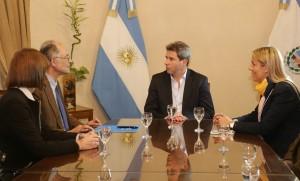 El coordinador residente de Naciones Unidas en Argentina visitó a Sergio Uñac