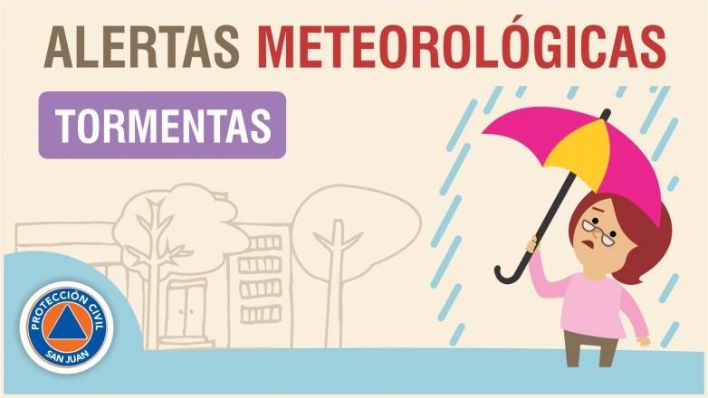 ⛈Alerta meteorológica Nº 12/19 - Tormentas